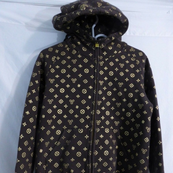 Aritzia TNA, brown and gold, rare, large, l